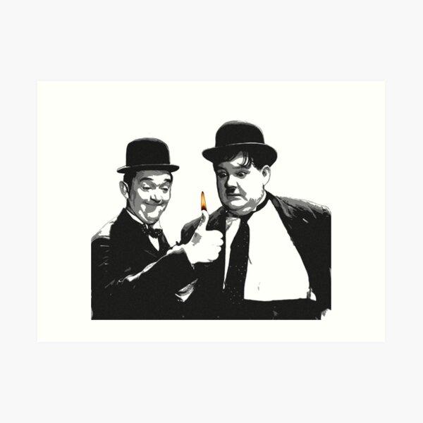 Laurel & Hardy Art Print