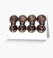 And what about the little ones... or are they just sleeping too? Greeting Card