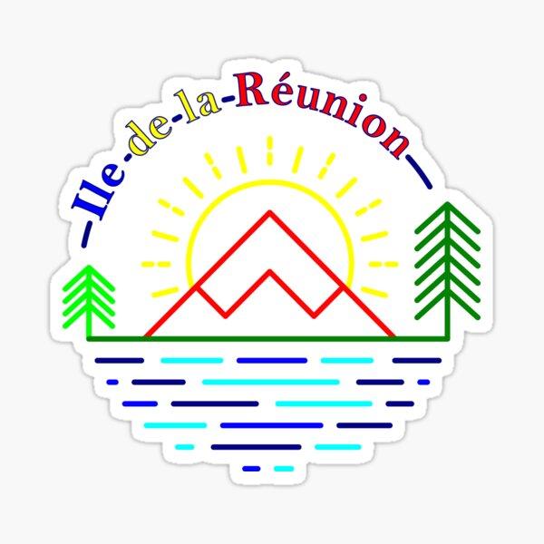 Ile de la Réunion Sticker