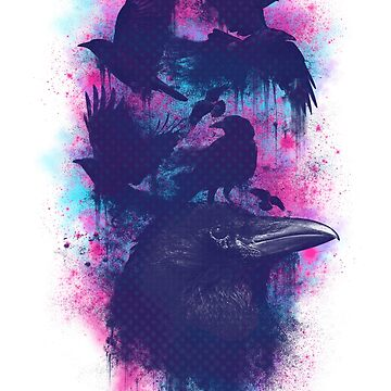 Family of Ravens by opawapo