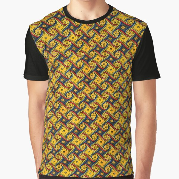 The Vintage Gally Carpet From LAX Marriott Larger Print Graphic T-Shirt