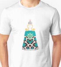 The Katy Bag / Tantalizing Turquoise Leopard Unisex T-Shirt