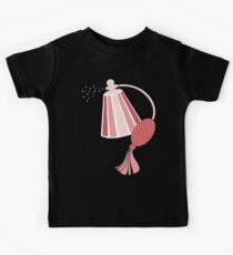 Pretty pink perfume atomizer bottle t-shirt Kids Tee