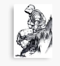 Iron Giant Metal Print