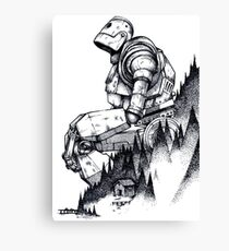 Iron Giant Canvas Print