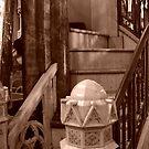 St. Albertus stairway detail by jrier