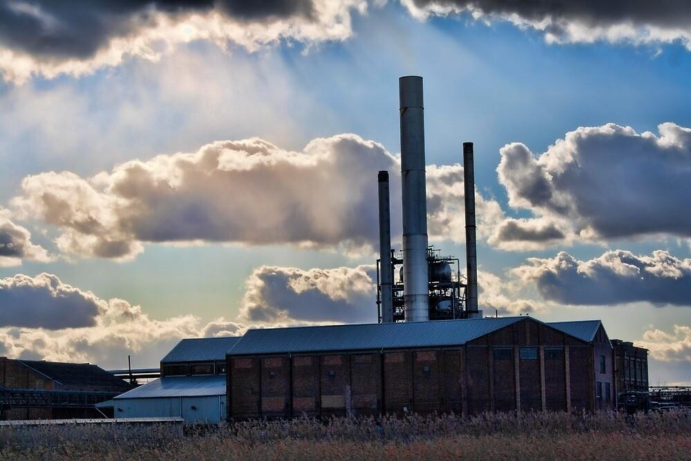 Snodland Paper Mill by Dave Godden