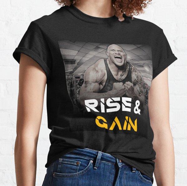The Rock - Dwayne Johnson - Motivational Quote  Classic T-Shirt