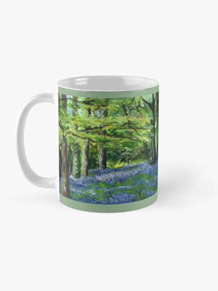 Alternate view of Bluebell Wood Mug
