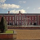 Eastern range, Peninsula Barracks, Winchester, southern England by Philip Mitchell