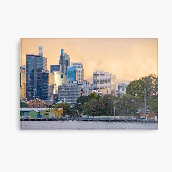 Sydney Sunset 04 16-07-09 Metal Print