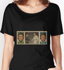 Benjamin K Edwards Collection John J Murray Fred Snodgrass New York Giants baseball card portrait Women's Relaxed Fit T-Shirt