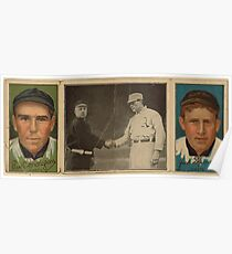Benjamin K Edwards Collection John J Murray Fred Snodgrass New York Giants baseball card portrait Poster