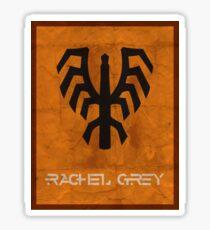 Minimalist Rachel Grey Sticker