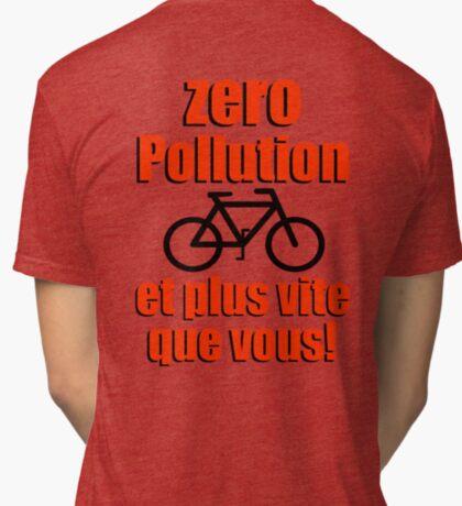 Zero Pollution (Fr) Tri-blend T-Shirt