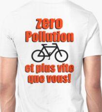 Zero Pollution (Fr) Unisex T-Shirt