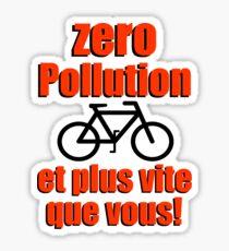 Zero Pollution (Fr) Sticker