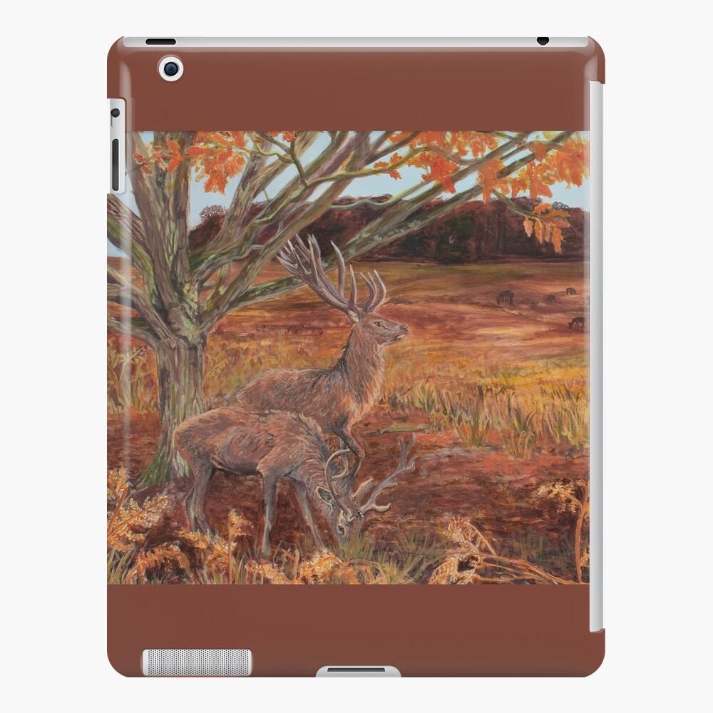 Red Deer at Bradgate Park iPad Case & Skin
