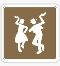 Folclore Sign, Chile  Sticker