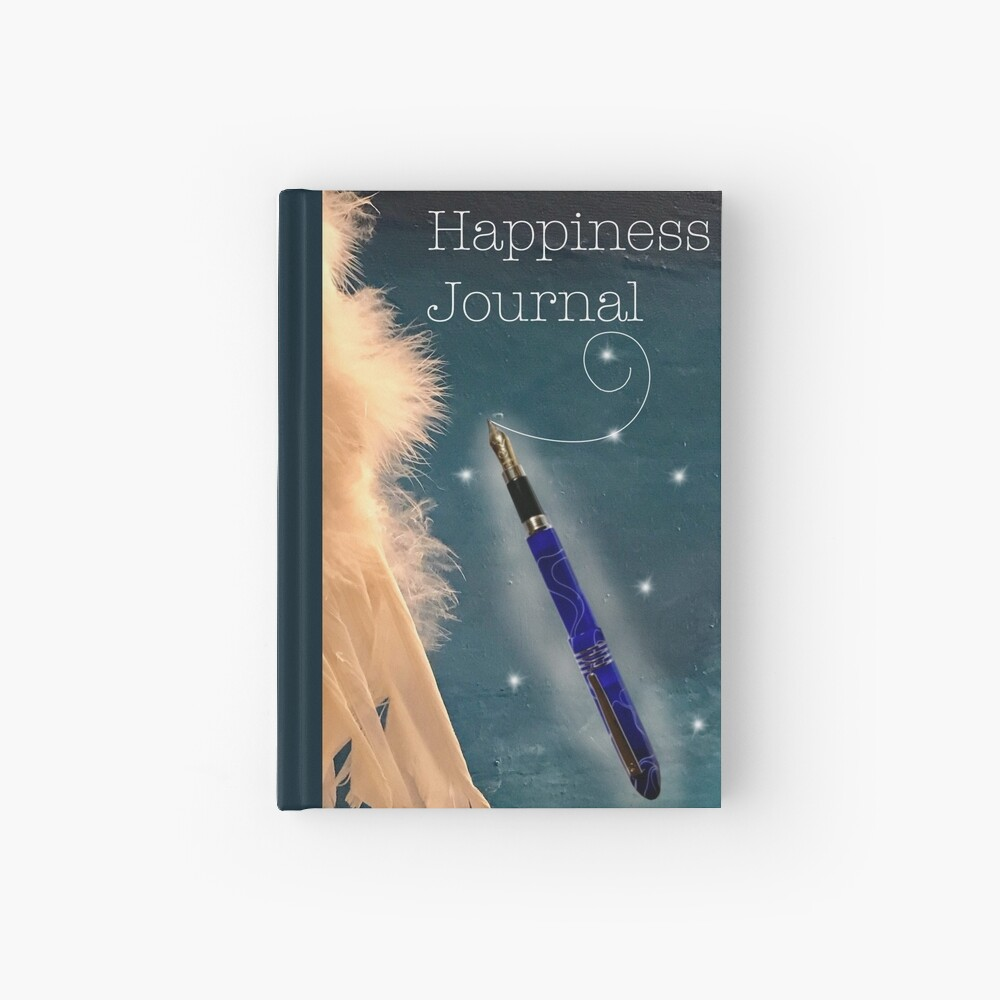 Happiness Journal Hardcover Journal