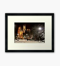 A Magical Evening In York Framed Print
