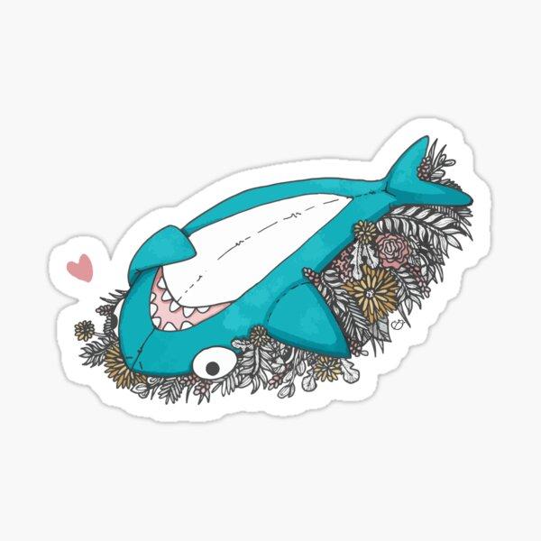 French shark Sticker