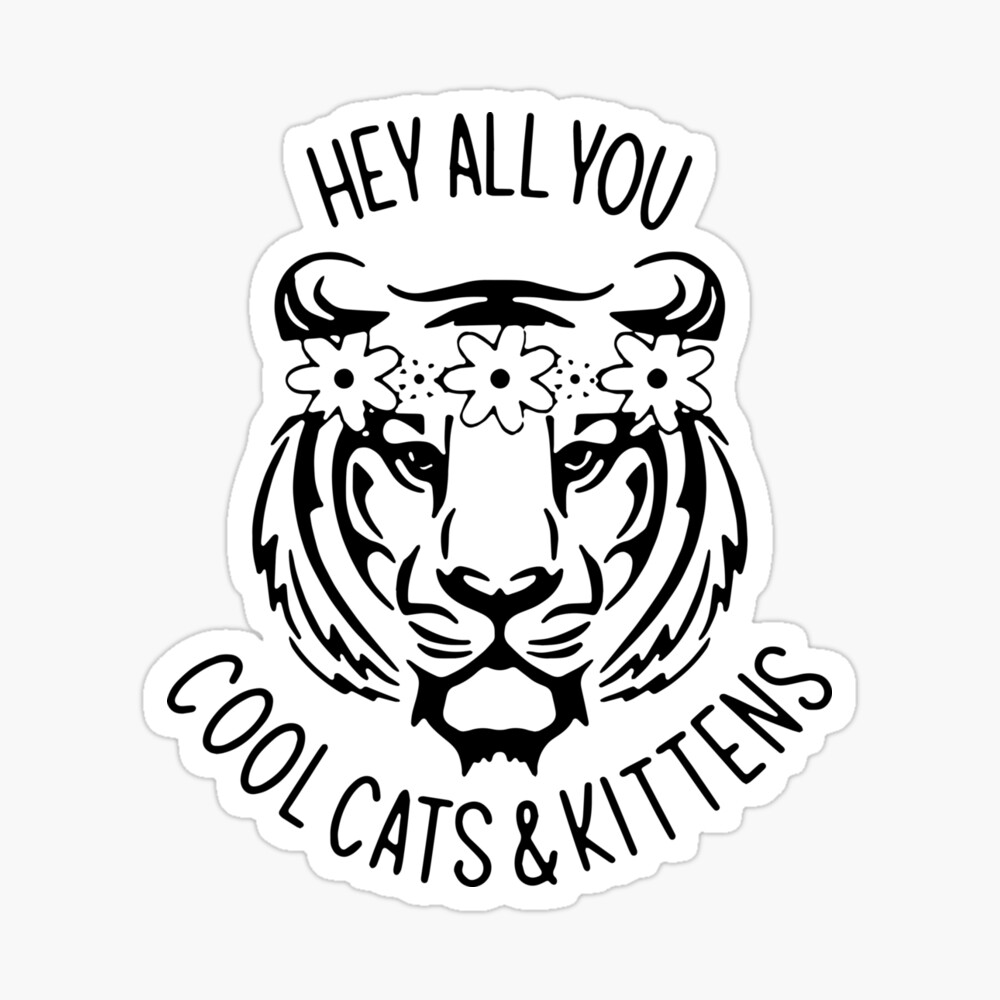 Carole Baskin Hey All You Cool Cats And Kittens Poster By Phaochisaigon Redbubble
