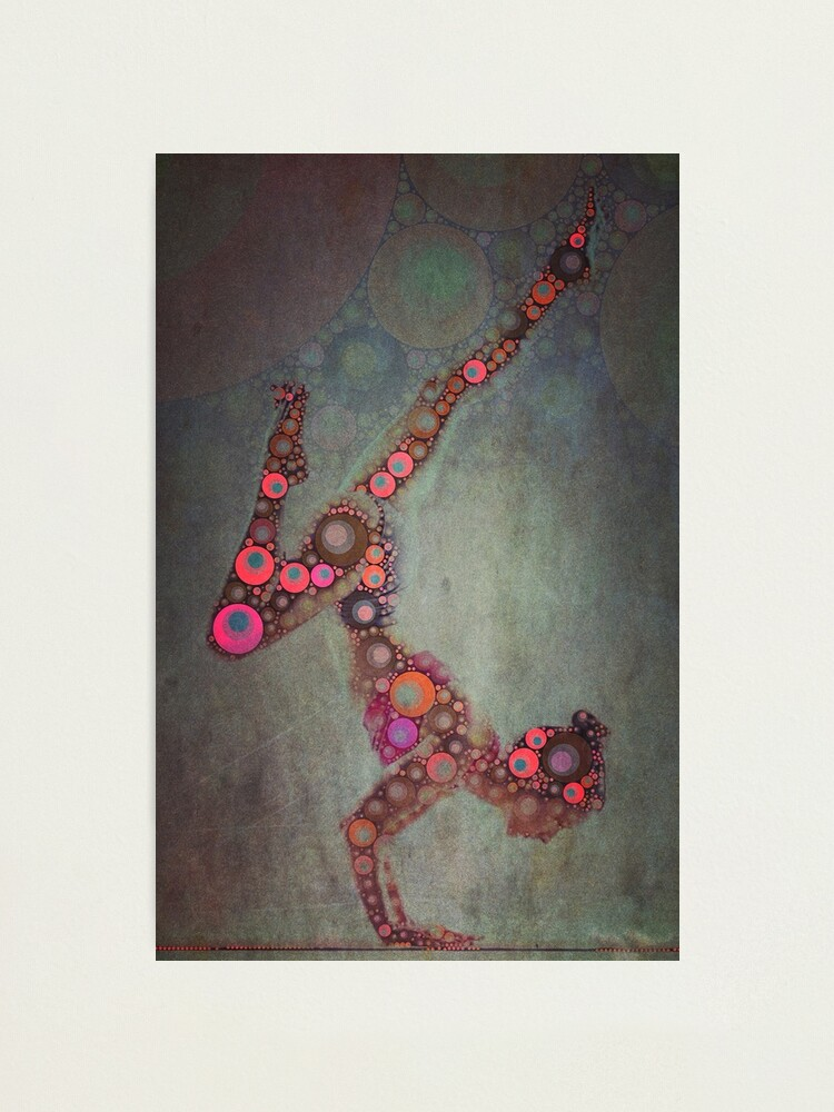 Alternate view of Vrschikasana - Yoga Art 2 Photographic Print