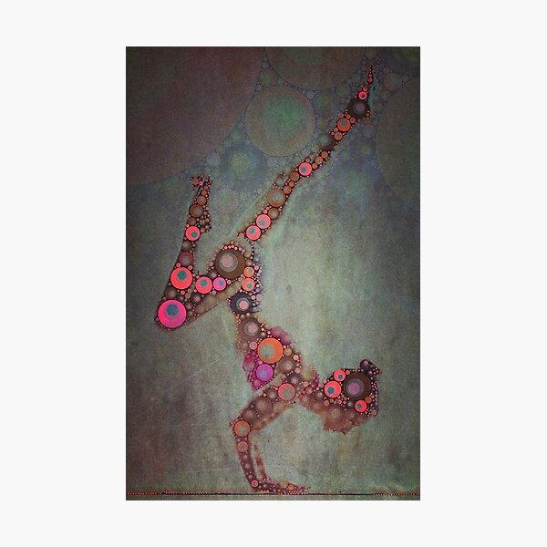 Vrschikasana - Yoga Art 2 Photographic Print