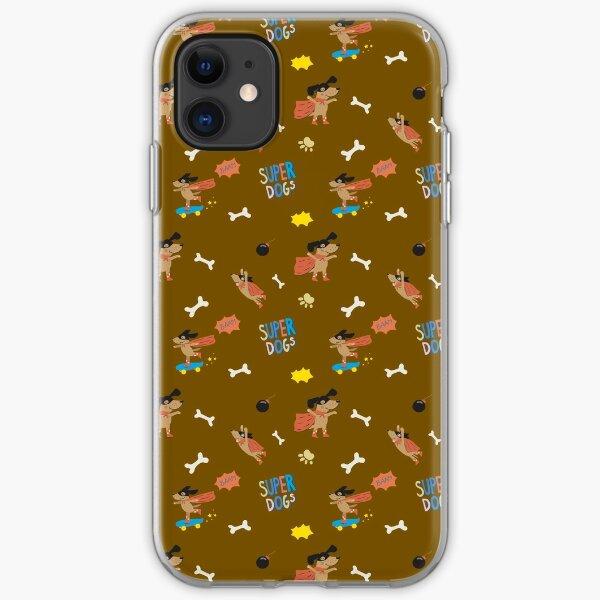 Superdogs iPhone Soft Case