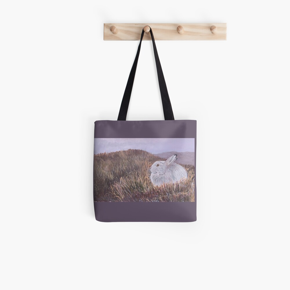 Mountain Hare Tote Bag