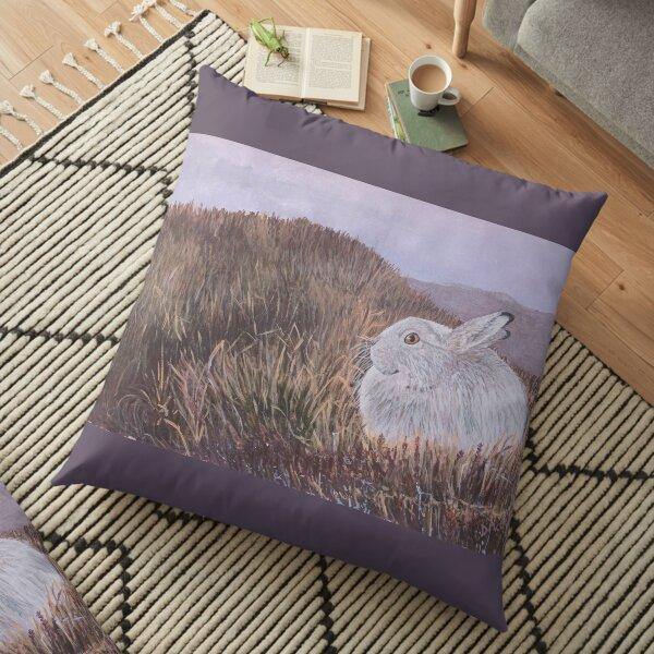 Mountain Hare Floor Pillow