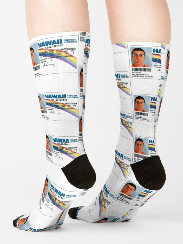 Alternate view of McLovin  Socks