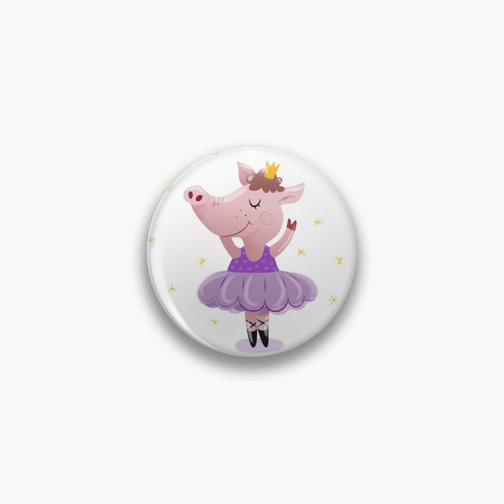 Ballet pig Pin