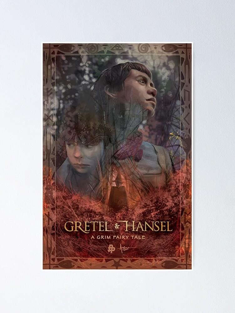 Gretel /& Hansel 2020 Poster Print Wall Decor