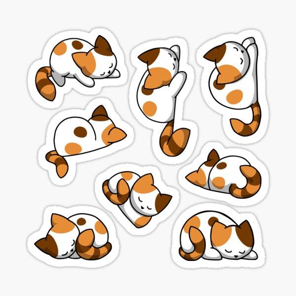 Sticker Set Katzen - Glückskatzen Sticker
