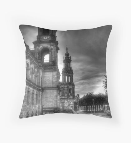 Old town Dresden Germany Throw Pillow
