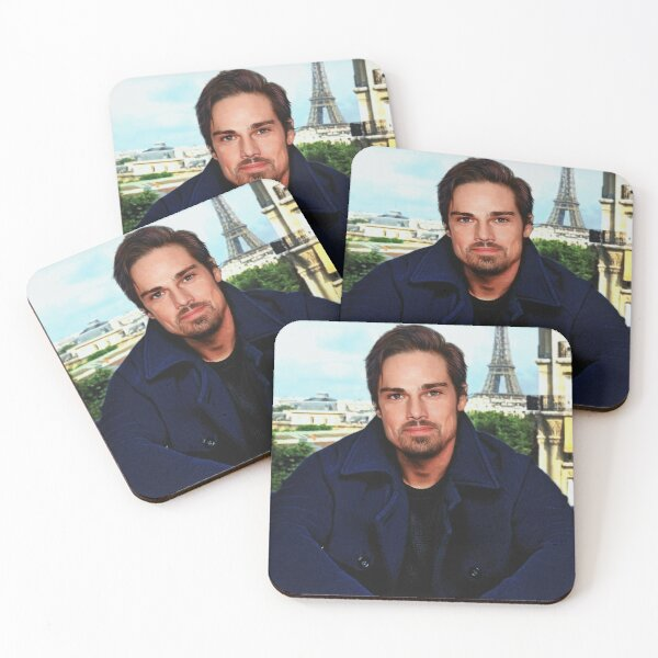 Vincent in Paris ~ Je taime ♥ Coasters (Set of 4)