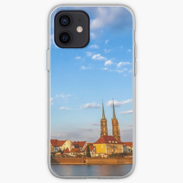 Wroclaw Skyline - The Cathedral Island iPhone Soft Case