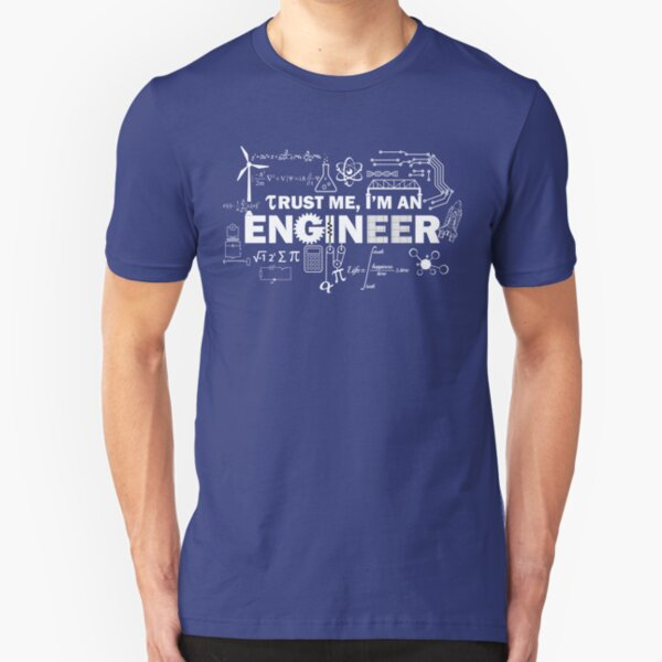 For All Engineers Slim Fit T-Shirt