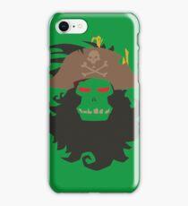 The Ghost Pirate LeChuck Minimalistic Design iPhone Case/Skin