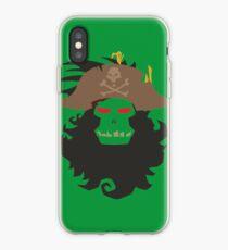 The Ghost Pirate LeChuck Minimalistic Design iPhone Case