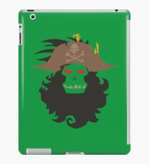 The Ghost Pirate LeChuck Minimalistic Design iPad Case/Skin
