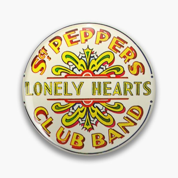 Sgt Peppers Lonely Hearts Club Band The Beatles Pin