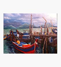 Boats Resting Photographic Print