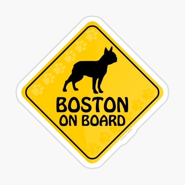 Boston On Board Sticker