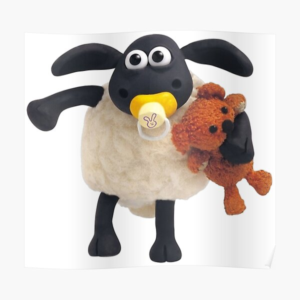 Timmy from Shaun the sheep Poster