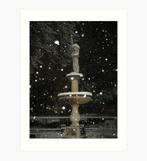 Feb. 19 2012 Snowstorm 54 Art Print