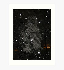 Feb. 19 2012 Snowstorm 59 Art Print
