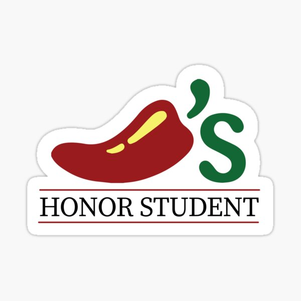 The Second Highest Honor from Chili's  Sticker